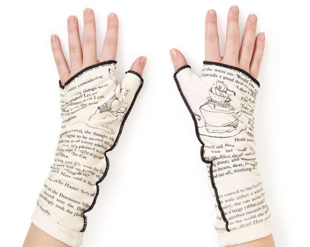 Literary Writing Gloves