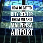 How To Get to City Center from Milano Malpensa Airport